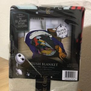 The Nightmare Before Christmas Blanket 60x90 NWT
